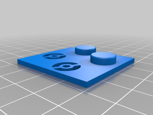 gameboy x y buttons drilling template by flunki2002 thingiverse
