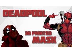Deadpool 3D Printed Mask