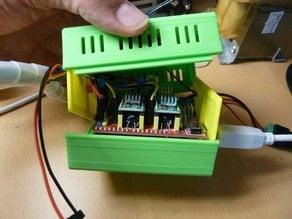Arduino UNO + Shield case + 40mm fan