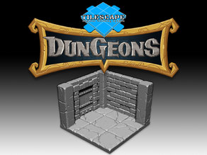 Tilescape™ DUNGEONS Core Set (by Rocket Pig Games Inc.)