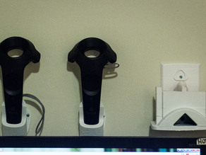 """HTC Vive HMD Wall Mount for 6"""" Print Beds"""