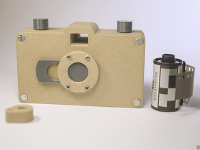 3D Printed Pinhole 35 mm