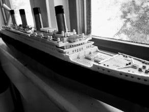 RMS Titanic 1/500scl