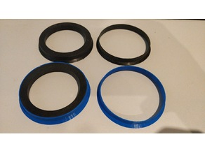 Centering rings for BMW