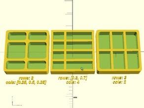 Customizable Box Tray