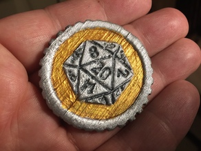 Tabletop RPG Inspiration Token