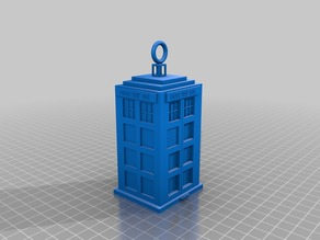 Tardis (Dr Who Keyring)