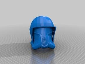 Star Wars The Old Republic Trooper Conqueror Helmet Print ready