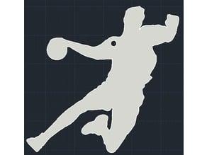 Handball keychain