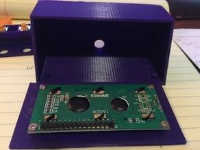 Arduino LCD housing