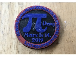 Pi Day 2019 Badge