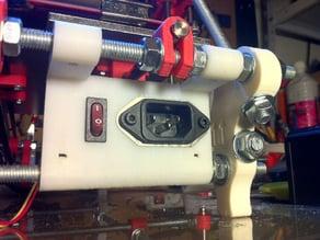 Prusa i2 power panel