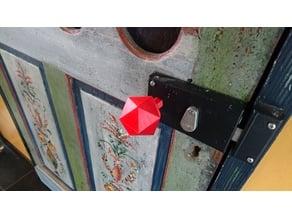 Low-poly door knob