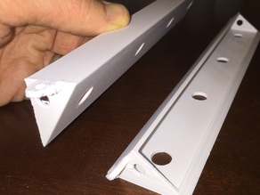 Printer enclosure LED lighting mount