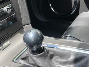 2011 mustang gt manual shift knob and polishing rod (M12 x 1.25)