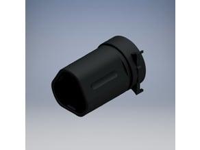 QD Blast Shield barrel extension