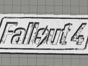 Fallout 4 Nameplate Necklace tag