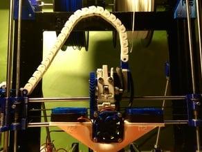 Prusa i3 r2 organization cables and motors nema 17