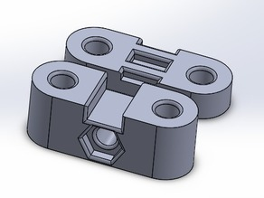 Solidworks Y-axis belt tensioner part