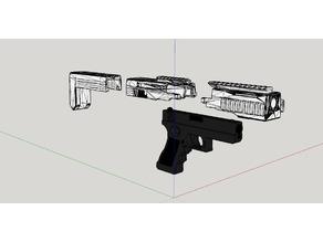 EVO8 - Airsoft Glock 18 conversion kit