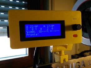 Case for Display LCD Controller Smart 2004 RepRap