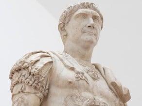 Roman Emperor Trajan Statue 3D Scan