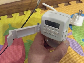 Timer EMT707 button child protection