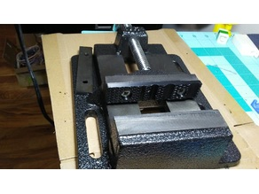 Drill Press Vise Plate