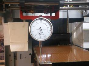 Clamp for bed measuring
