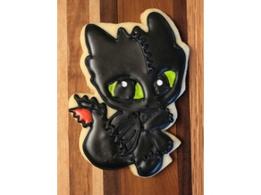 Night Fury Cookie Cutter