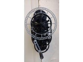 Skeleton Clockface