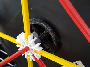 Knex to kg spool adapter.