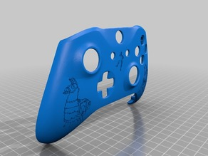 Xbox One S Custom Controller Shell: Fortnite - DJ Llama Edition