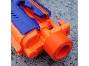 Nerf Barrel Attachment Rings