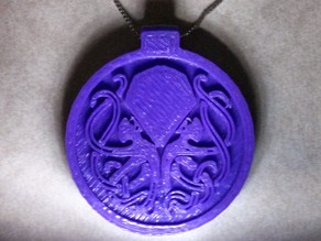 Cthulhu Cult Token - Necklace Pendant