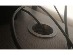 Simple desk hole plug 51mm