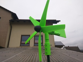 Windrad / Wind turbine