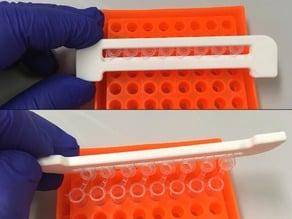 8-strip PCR tube opener