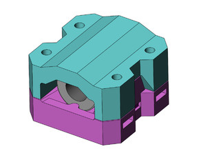 Reduced Binding Y bearing Block for Zaribo & Haribo
