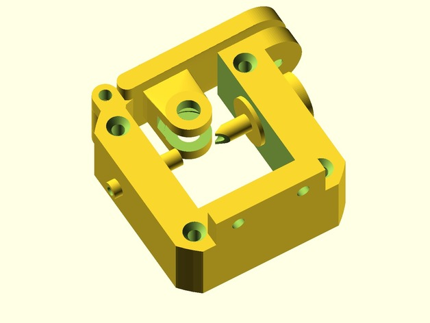 Compact Bowden Extruder