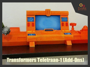Transformers Generation 1 - Autobot Ark Teletraan-1 (Add-Ons)