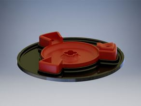 Ciclop 3D Disc Set for smaller Printbeds