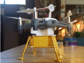 Tello Drone LEM  (Lunar Excursion Module)