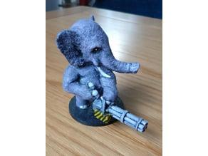 Natures Zombie Apocalypse - Elephant