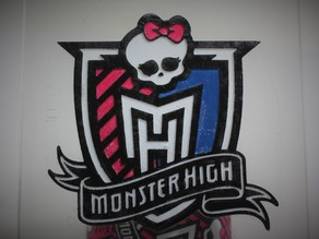 Monster High Shield Logo