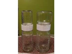 Double Ended Jar Ring - Join Two Jars - 3 Versions