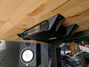 1U Under-Desk Mounting Brackets
