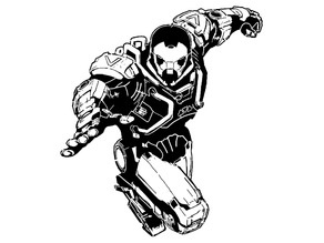Anthem Ranger Javelin stencil
