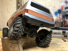 """Rock Smasher"" Rear Bumper for RC Crawlers"