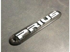 Toyota Prius Keychain